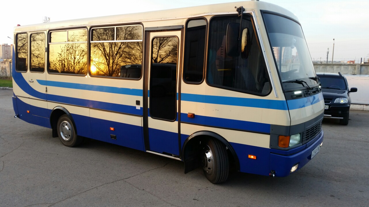 Автобус БОГДАН, МЕРСЕДЕС Тольятти