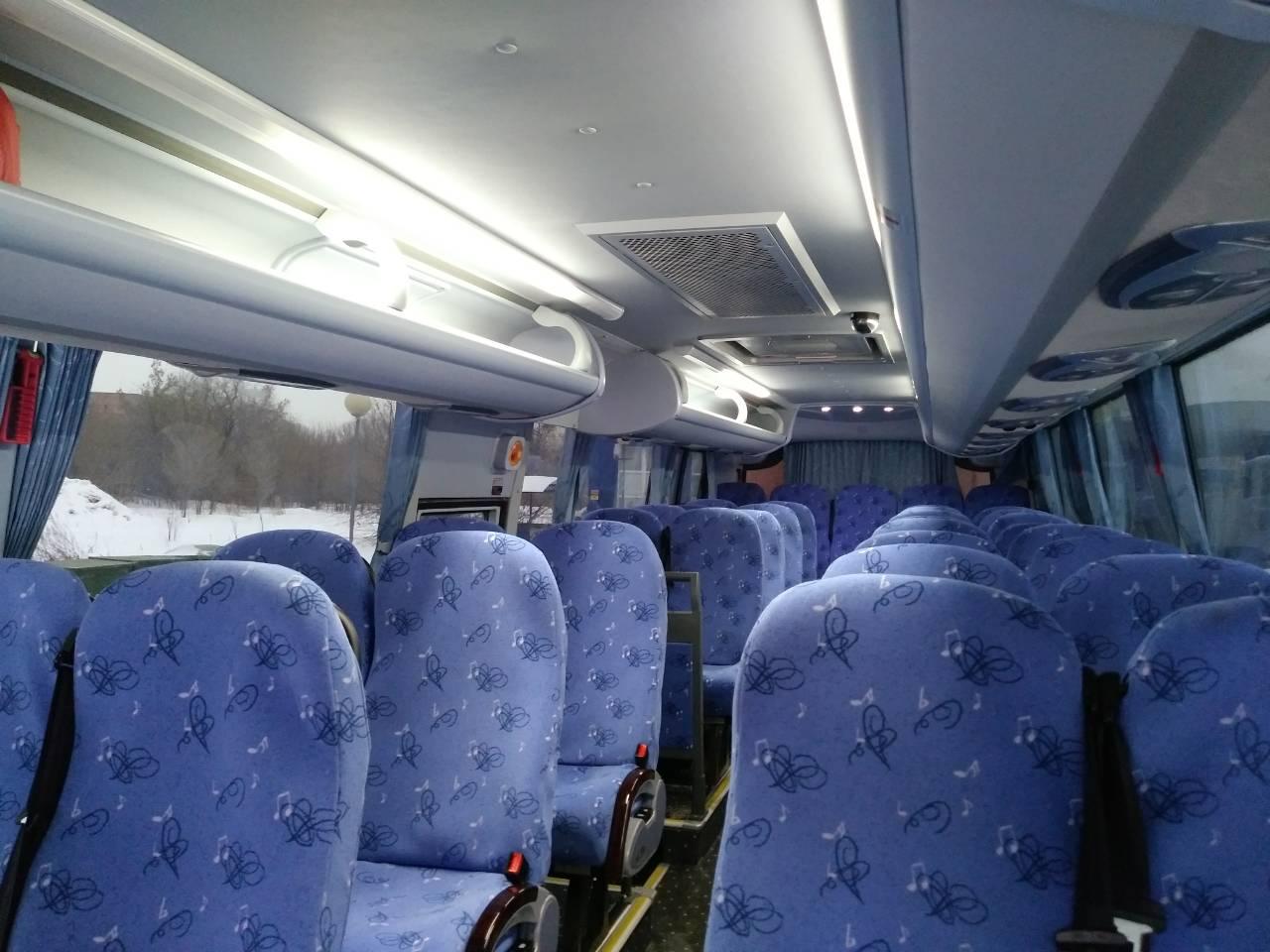 Салон Автобуса КИНГ ЛОНГ Тольятти