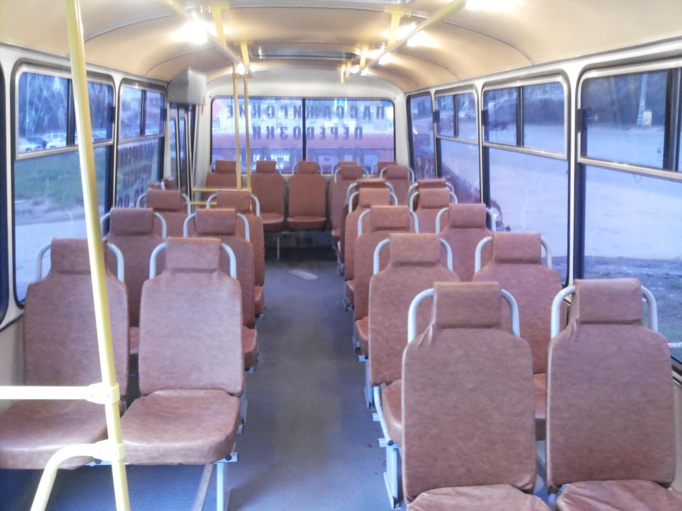 Салон Автобуса ПАЗ Тольятти